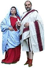 Ein römisches Bürgerpaar