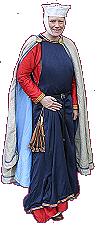 Eine Dame des späten 13. Jahrhunderts