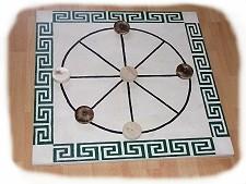 Unser großes Kreismühle-Spielbrett