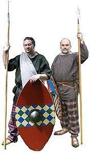 Zwei keltische Krieger