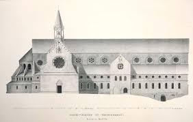 Rekonstruktion der Kirche von Kloster Heisterbach.