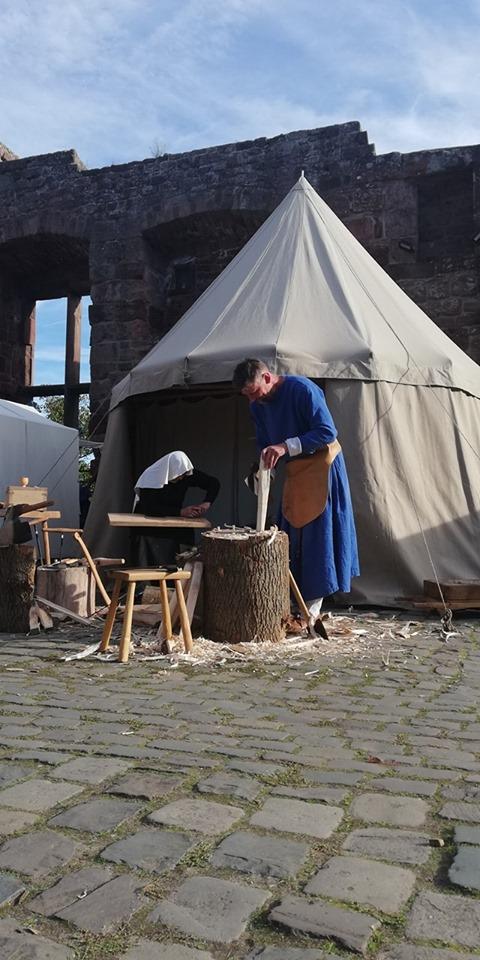 Der mittelalterliche Schreiner