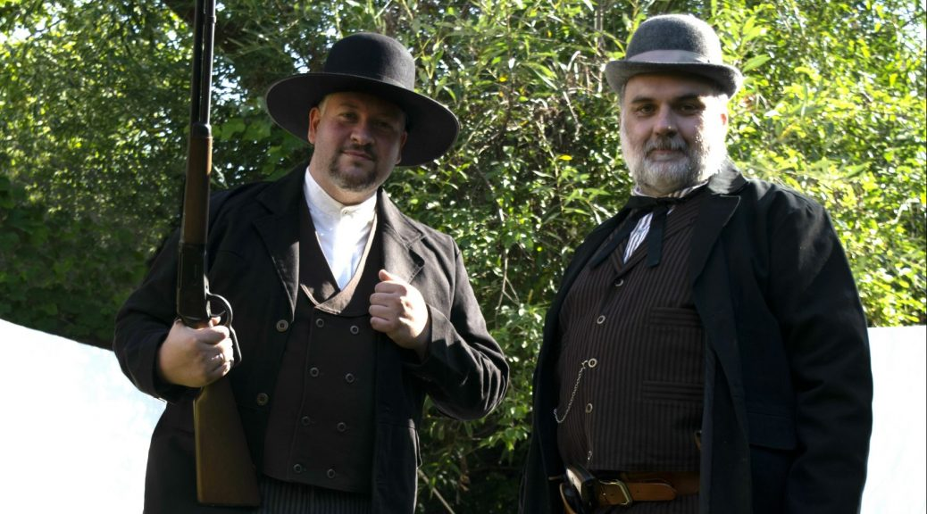 Oliver und Christian im Wilden Westen